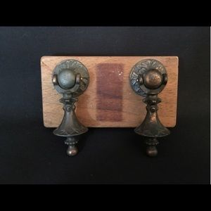 Vintage Other - Antique drawer pulls, set of 4, copper plated